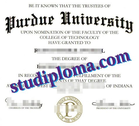 fake Purdue University degree