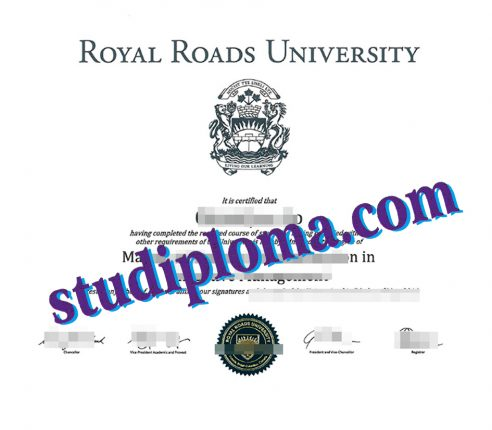 buy Royal Road University diploma