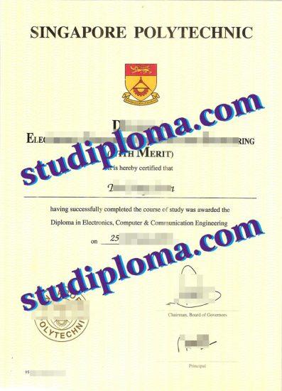 buy Singapore Polytechnic degree