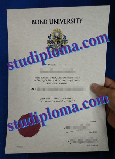 buy Bond university degree