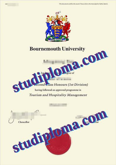 buy Bournemouth University degree