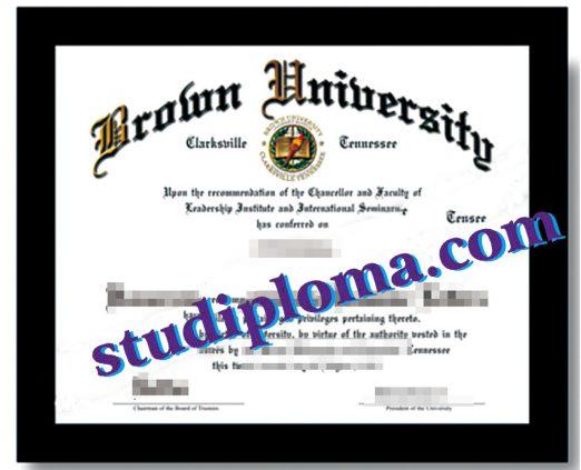 buy Brown University diploma