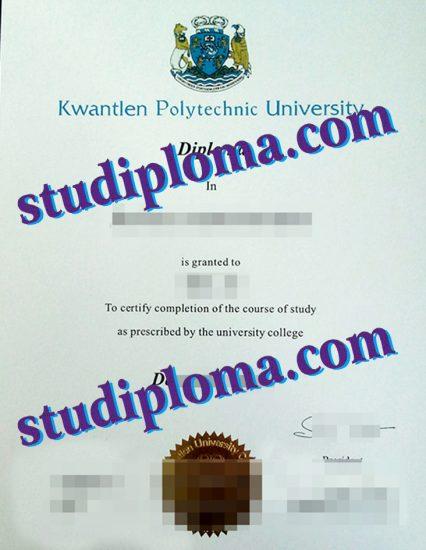 buy Kwantlen Polytechnic University degree certificate