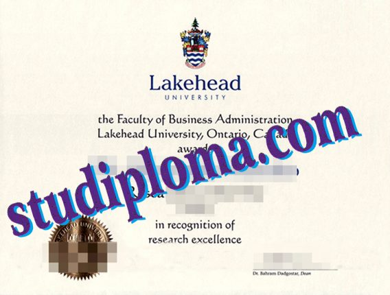 buy Lakehead University diploma