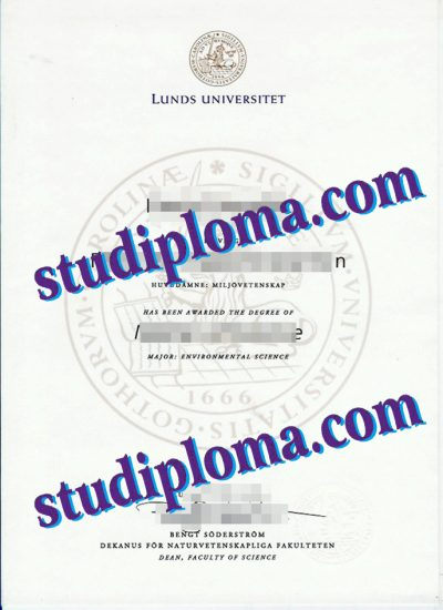 fake Lund University degree