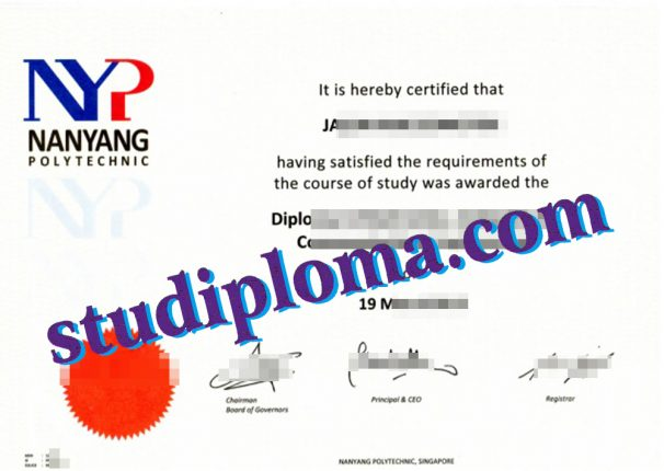 fake NanYang Polytechnic certificate