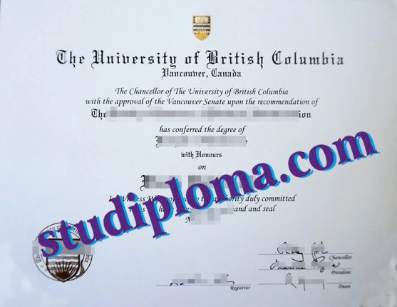 UBC Sauder School of Business diploma