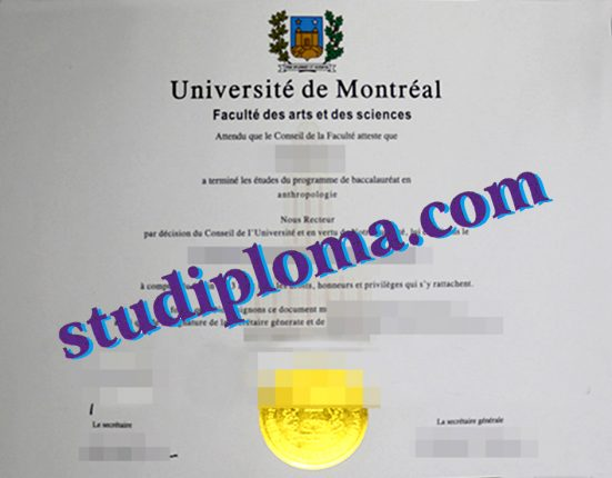 buy Université de Moncton diploma