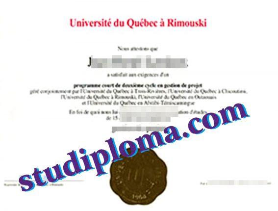 fake UQAR DIPLOMA