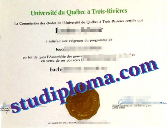 fake UQTR diploma