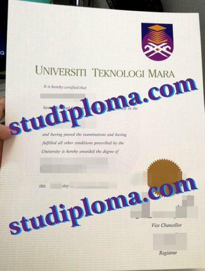 buy Universiti Teknologi MARA diploma