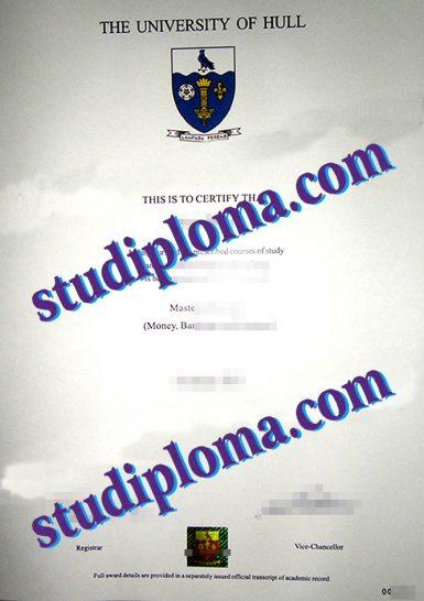University of Hull diploma