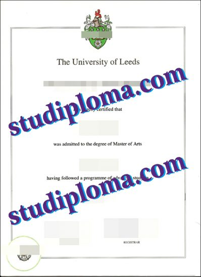 buy University of Leeds diploma