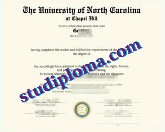 fake UNCCH diploma