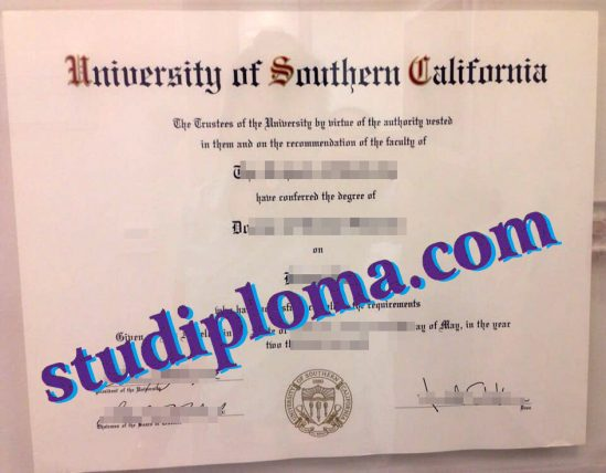 buy University of Southern California diploma