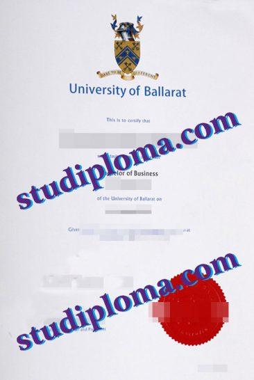 University of Ballarat diploma