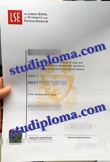 fake LSE diploma