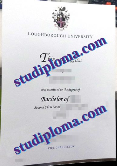 fake Loughborough University diploma