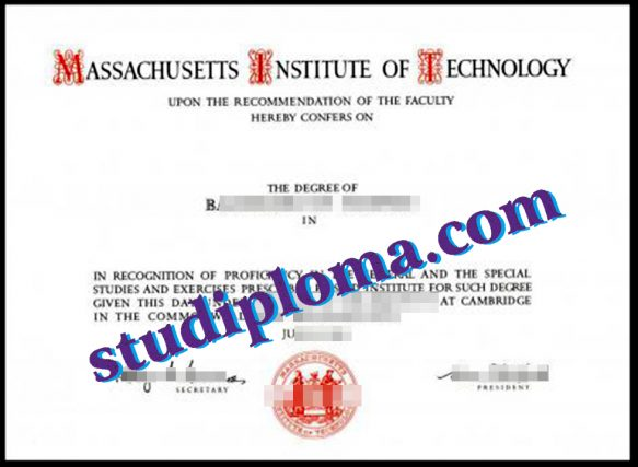 buy Massachusetts Institute of Technology diploma
