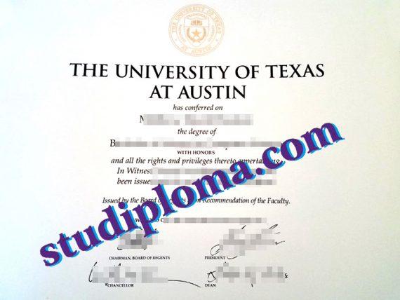 buy fake UTA diploma