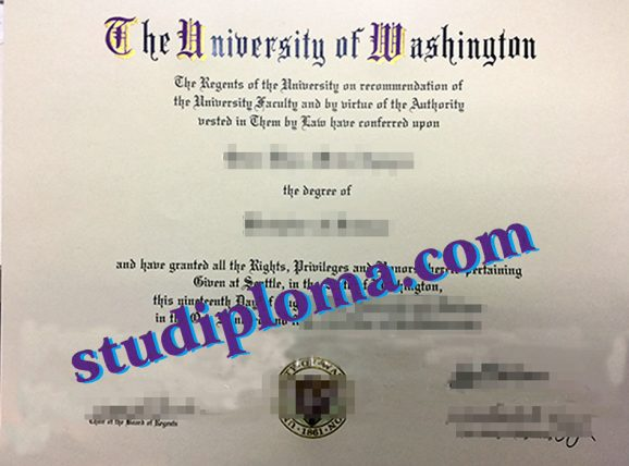 buy University of Washington diploma