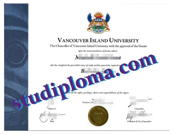 fake VIU degree certificate