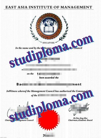 fake EAIM diploma