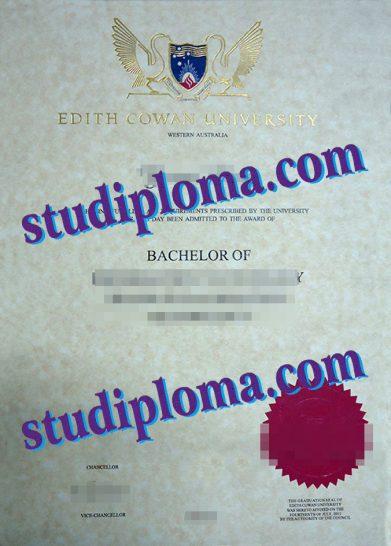 fake ECU diploma