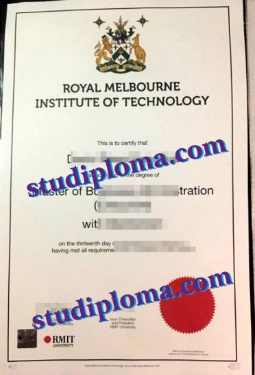 buy Royal Melbourne Institute of Technology University degree