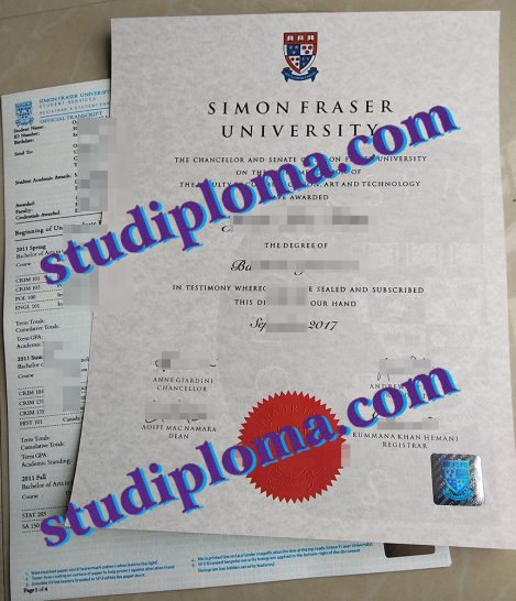 fake Simon Fraser University degree