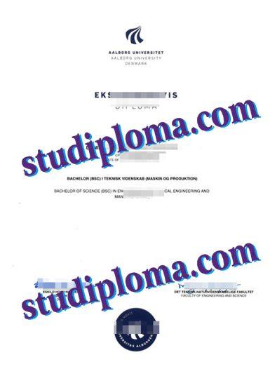 fake AAU degree certificate