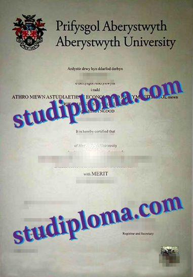 Aberdeen University diploma