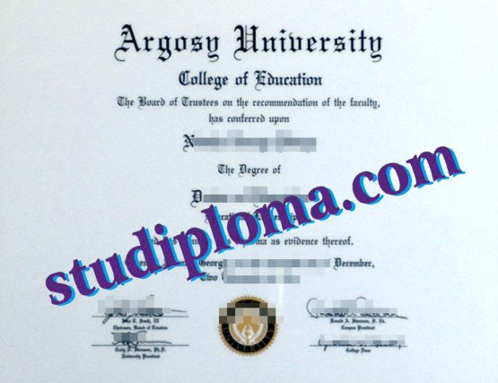 Argosy University degree