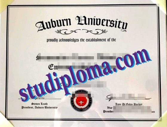fake Auburn University degree