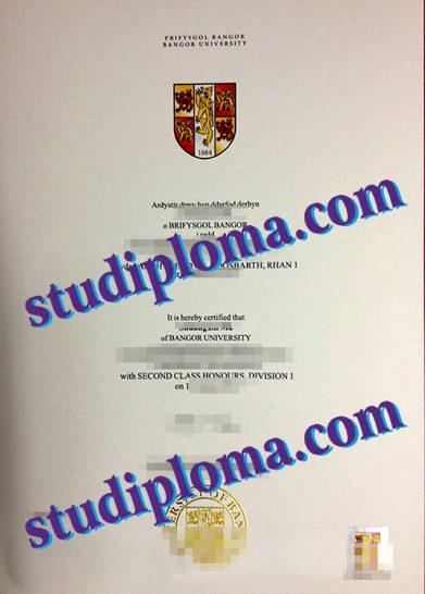 Bangor University diploma