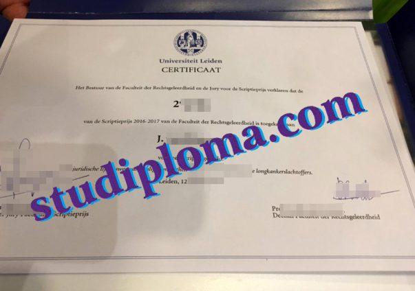 Leiden University fake diploma