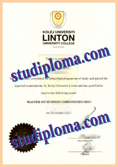 Linden university college fake diploma