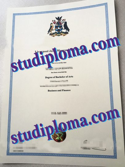 fake Liverpool John Moores University degree