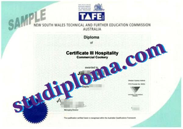 New England Institute of TAFE fake degree