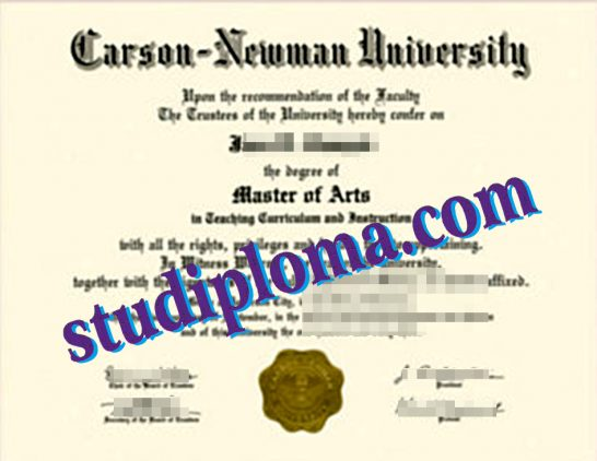 fake Newman University degree