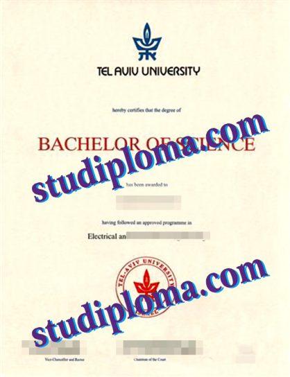 buy TAU fake diploma