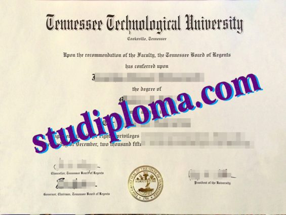 buy TTU degree certificate