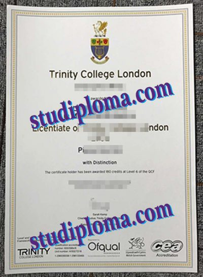 Trinity College London diploma