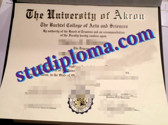 University of Akron degree