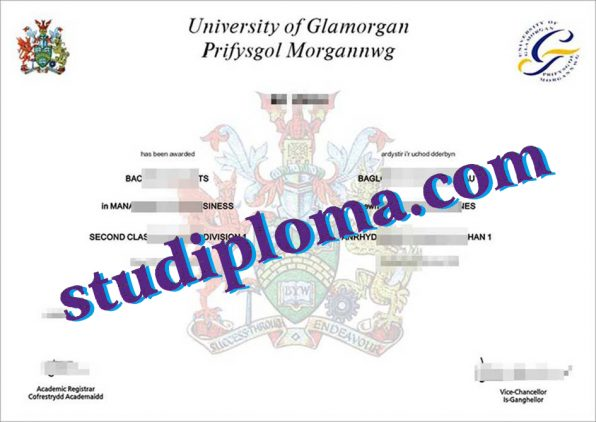 fake University of Glamorgan degree