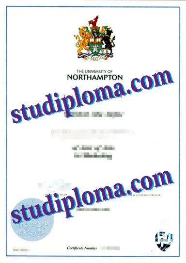 buy University of Northampton diploma