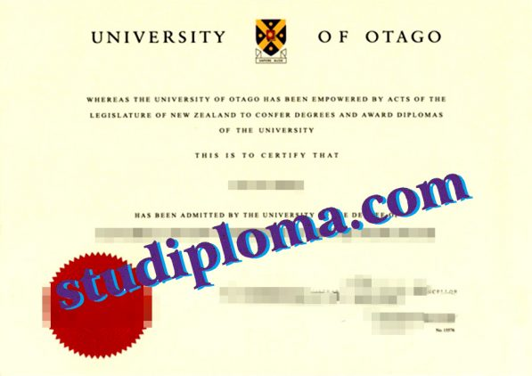 buy University of Otago degree