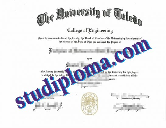 University of Toledo fake degree