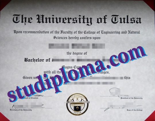 University of Tulsa degree