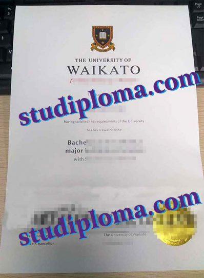 buy University of Waikato diploma